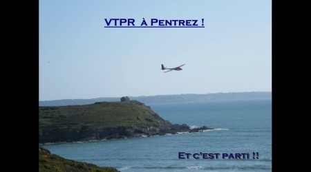 VTPR at Pentrez Plage, Brittany